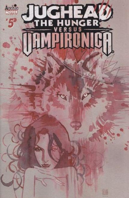 Archie Comic Publications Jughead: The Hunger Vs Vampironica #5B Comic Book