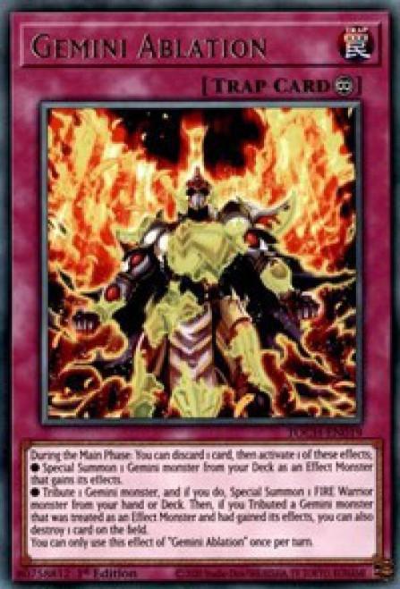 YuGiOh Toon Chaos Rare Gemini Ablation TOCH-EN019