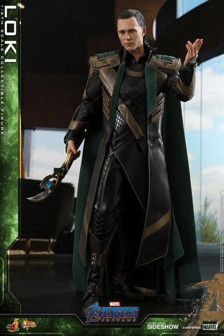Marvel Avengers Endgame Movie Masterpiece Loki Collectible Figure MMS579 [Avengers Endgame] (Pre-Order ships May 2021)