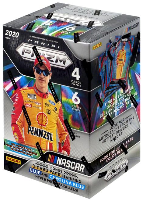 NASCAR Panini 2020 Prizm Racing Trading Card BLASTER Box [6 Packs + Bonus Pack]