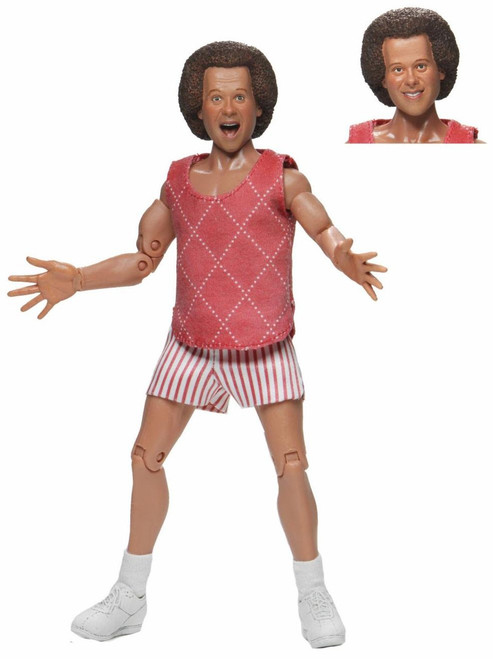 NECA Richard Simmons Clothed Action Figure (Pre-Order ships November)