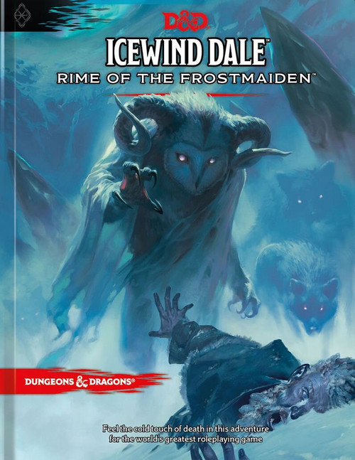 Dungeons & Dragons 5th Edition Icewind Dale: Rime of the Frostmaiden Hardcover Roleplaying Book [Regular Cover]