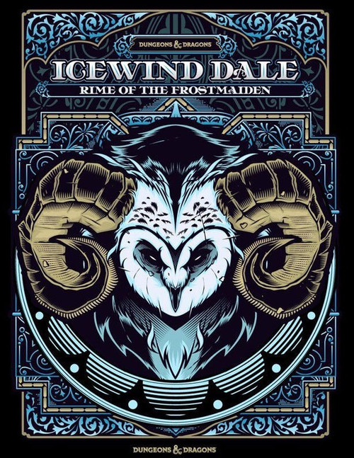 Dungeons & Dragons 5th Edition Icewind Dale: Rime of the Frostmaiden Hardcover Roleplaying Book [Alternate Cover]