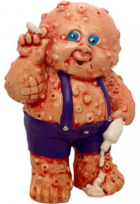 Garbage Pail Kids 2020 GPK Trashy Treasures Corroded Carl (Purple Overalls) Figurine [Plus 1 Collectible Card]