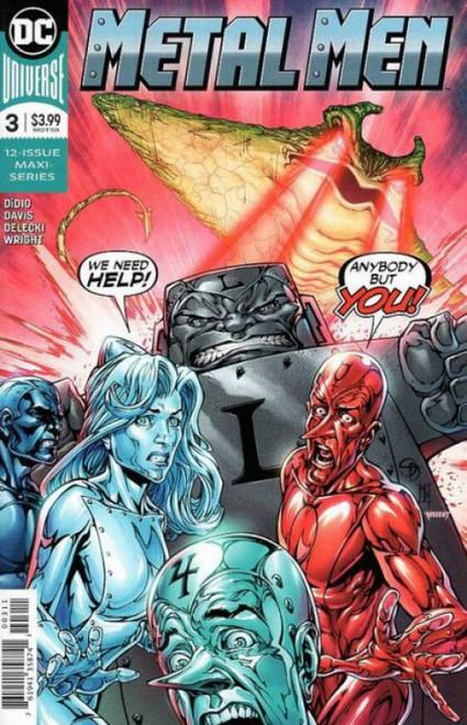 DC Comics Metal Men, Vol. 4 #3A Comic Book
