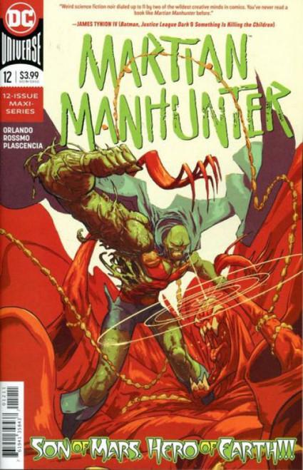 DC Comics Martian Manhunter, Vol. 5 #12A Comic Book