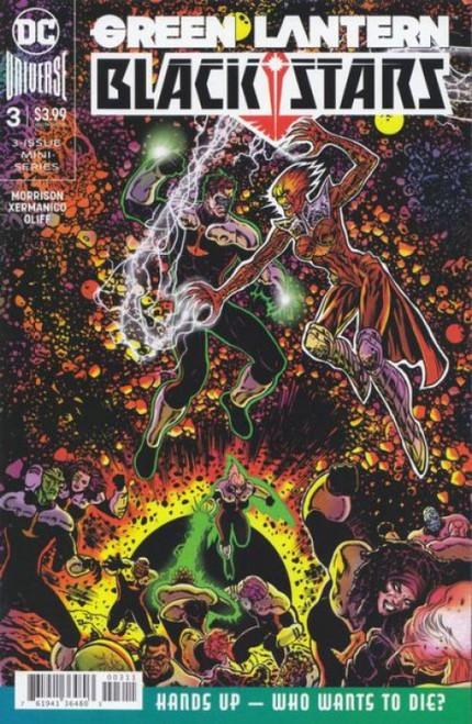 DC Comics Green Lantern: Blackstars #3A Comic Book