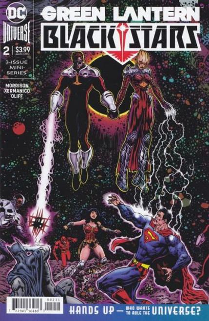 DC Comics Green Lantern: Blackstars #2A Comic Book