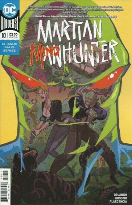 DC Comics Martian Manhunter, Vol. 5 #10A Comic Book