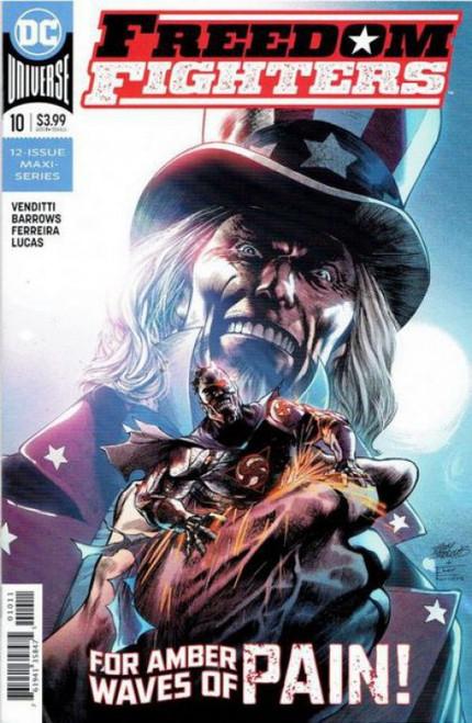 DC Comics Freedom Fighters, Vol. 3 #10 Comic Book