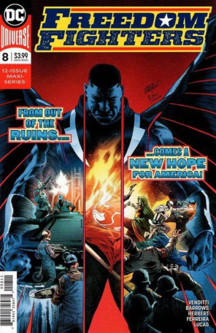 DC Comics Freedom Fighters, Vol. 3 #8 Comic Book