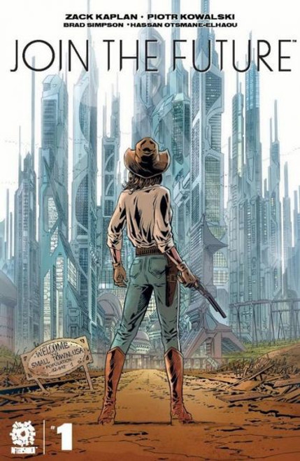 Aftershock Comics Join The Future #1A Comic Book