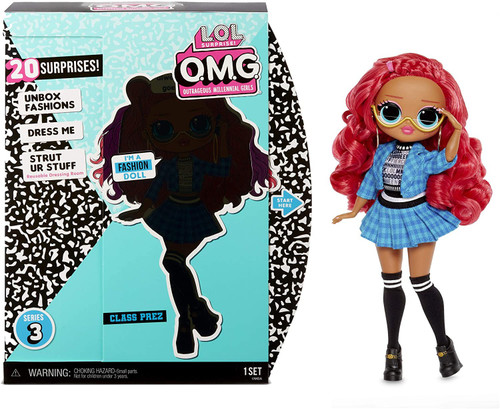 LOL Surprise OMG Series 3 Class Prez Fashion Doll