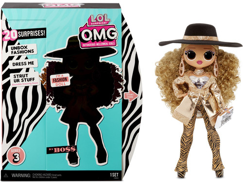 LOL Surprise OMG Series 3 Da Boss Fashion Doll