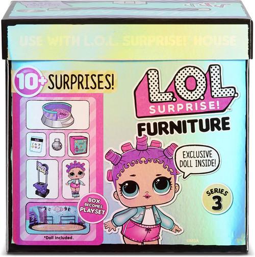 LOL Surprise Dolls Furniture Series 3 Roller Rink & Roller Sk8er Play Set Pack