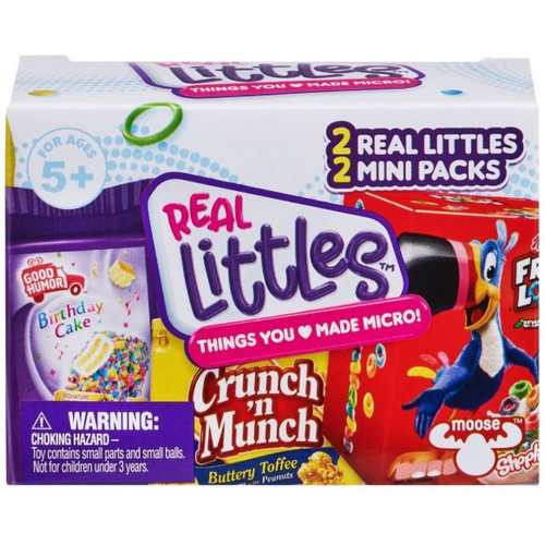 Shopkins Real Littles Season 14 Mystery Pack [2 Shopkins & 2 Mini Packs]