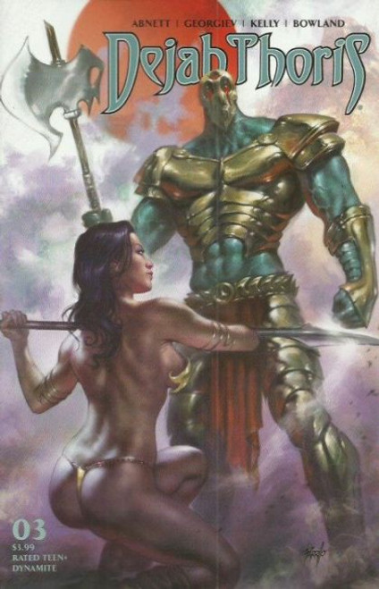 Dynamite Entertainment Dejah Thoris, Vol. 3 #3A Comic Book