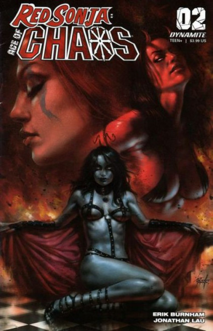 Dynamite Entertainment Red Sonja: Age of Chaos #2A Comic Book