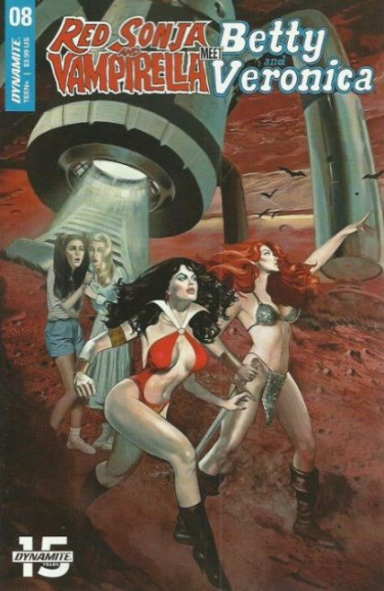 Dynamite Entertainment Red Sonja and Vampirella Meet Betty and Veronica #8A Comic Book