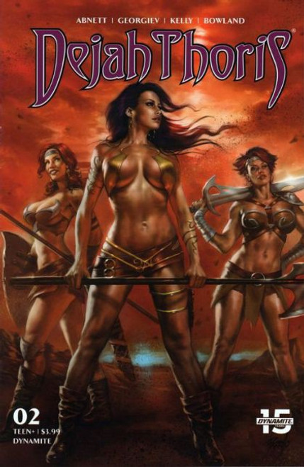 Dynamite Entertainment Dejah Thoris, Vol. 3 #2A Comic Book