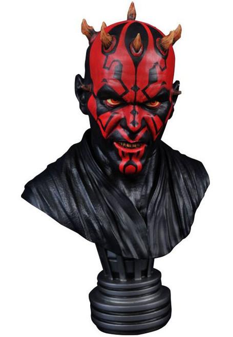 Star Wars Phantom Menace Legends in 3D Darth Maul Half-Scale Bust