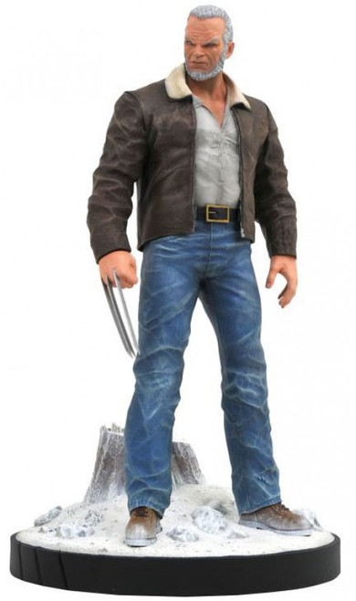 Deadpool Marvel Premier Collection Old Man Logan 9-Inch Resin Statue (Pre-Order ships January)