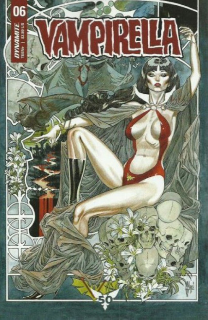 Dynamite Entertainment Vampirella, Vol. 6 #6B Comic Book