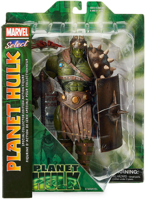 Marvel Select Hulk Action Figure [Planet Hulk Version]