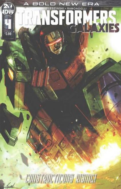 IDW Publishing Transformers: Galaxies #4A Comic Book