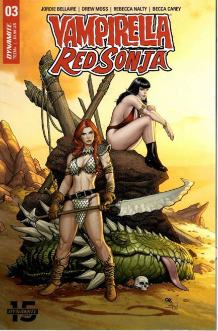 Dynamite Entertainment Vampirella / Red Sonja #3A Comic Book