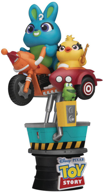 Pixar Toy Story D-Stage Bunny & Ducky Coin Ride 6-Inch Diorama Statue DS-062