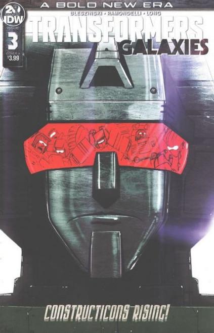 IDW Publishing Transformers: Galaxies #3A Comic Book