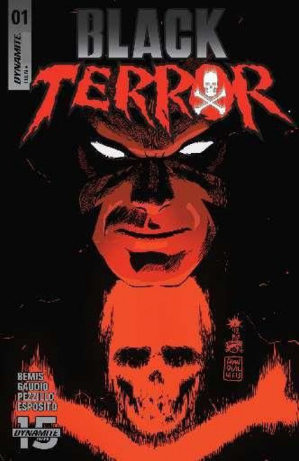 Dynamite Entertainment Black Terror, Vol. 2 #1A Comic Book