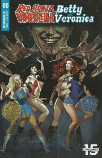 Dynamite Entertainment Red Sonja and Vampirella Meet Betty and Veronica #6A Comic Book