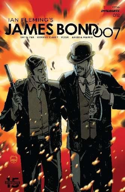 Dynamite Entertainment James Bond 007 #12A Comic Book