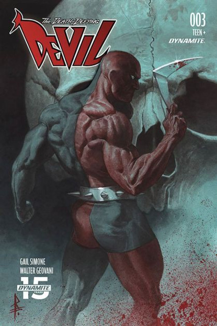 Dynamite Entertainment The Death-Defying 'Devil, Vol. 2 #3C Comic Book