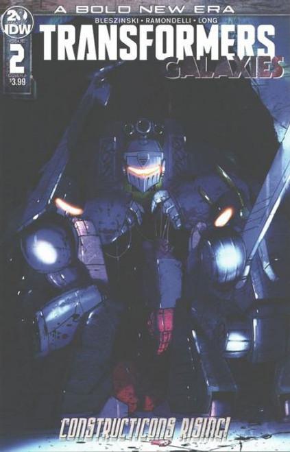 IDW Publishing Transformers: Galaxies #2A Comic Book