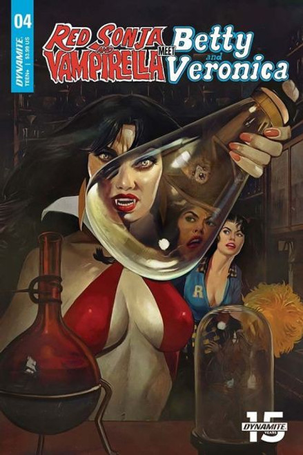 Dynamite Entertainment Red Sonja and Vampirella Meet Betty and Veronica #4A Comic Book