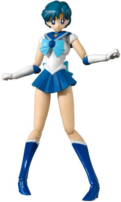 Pretty Guardian Sailor Moon S.H. Figuarts Sailor Mercury Action Figure [Animation Color Edition]