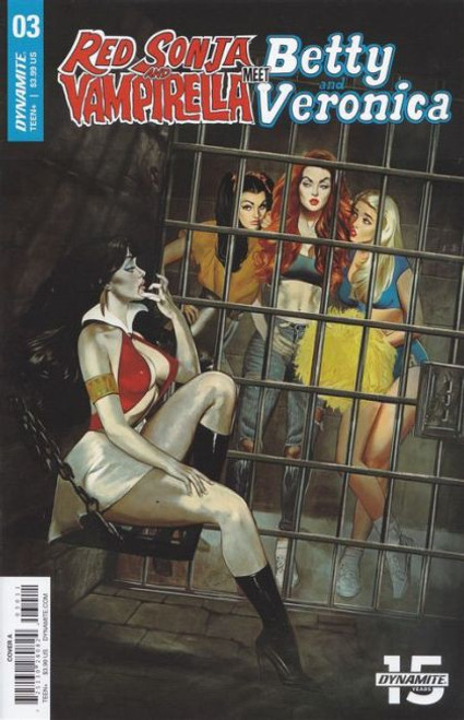 Dynamite Entertainment Red Sonja and Vampirella Meet Betty and Veronica #3A Comic Book