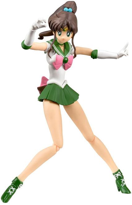 Pretty Guardian Sailor Moon S.H. Figuarts Sailor Jupiter Action Figure [Animation Color Edition]