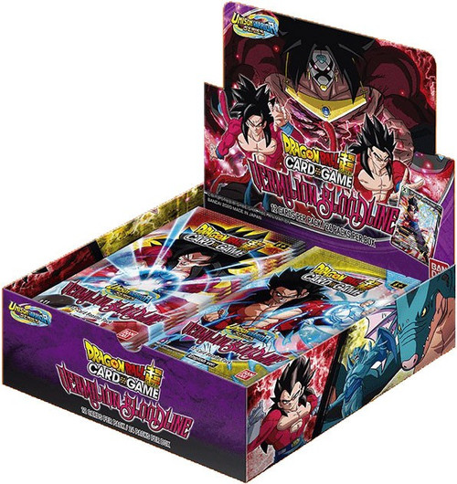 Dragon Ball Super Collectible Card Game Unison Warrior Series 2 Vermilion Bloodline Booster Box B11 [24 Packs]