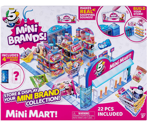 5 Surprise Mini Brands! Mini Mart Playset