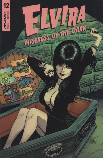 Elvira: Mistress Of The Dark (Dynamite Entertainment) #12B Comic Book