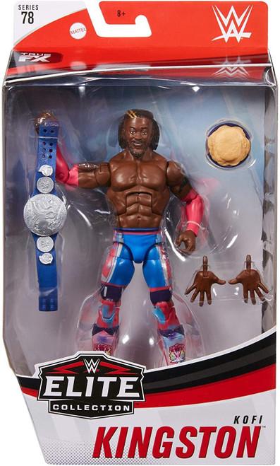 WWE Wrestling Elite Collection Series 78 Kofi Kingston Action Figure