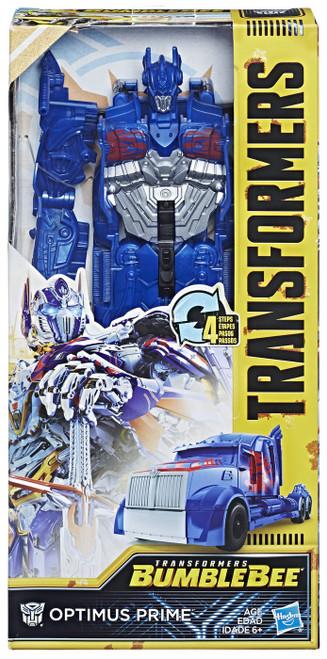 "Transformers Bumblebee Movie Titan Changers Optimus Prime 11"" Action Figure"
