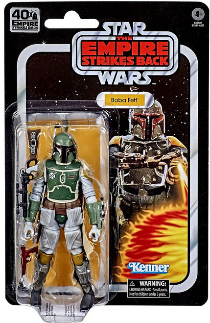 Star Wars Empire Strikes Back 40th Anniversary Wave 3 Boba Fett Action Figure
