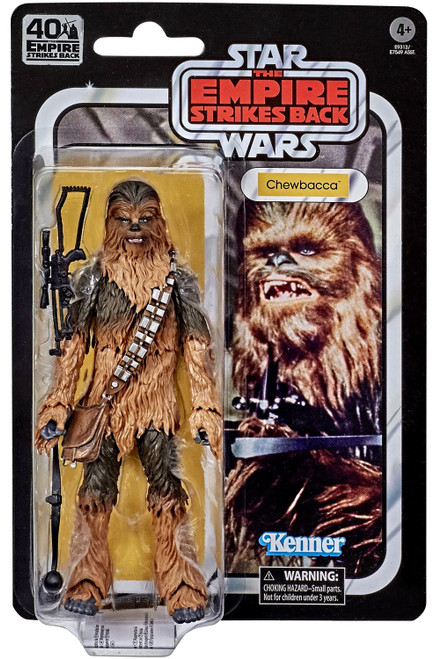 Star Wars The Empire Strikes Back 40th Anniversary Wave 3 Chewbacca Action Figure (Pre-Order ships February)