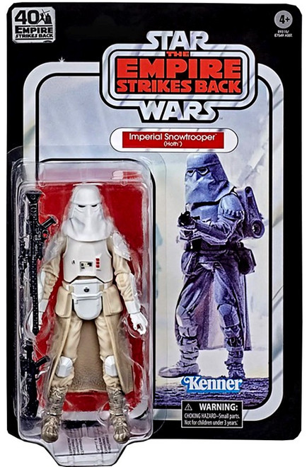 Star Wars The Empire Strikes Back 40th Anniversary Wave 3 Snowtrooper Action Figure (Pre-Order ships April)