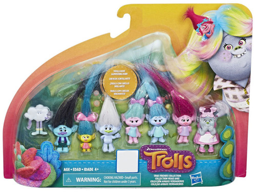 Trolls True Friends Collection Exclusive Mini Figure 8-Pack